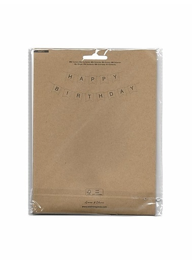 LWP Shop Sostrene Grene Mavi Happy Birthday Harfler Mavi
